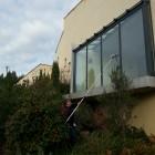 Nettoyage des vitres en hauteur